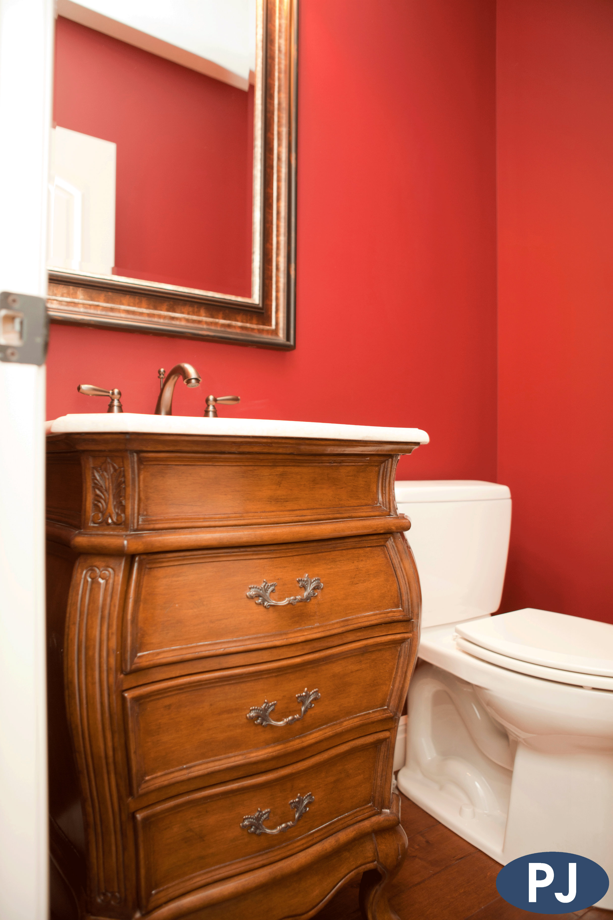 Old Hawthorne Custom Half Bath