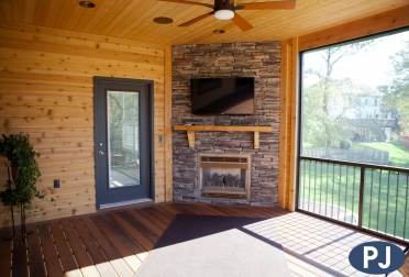 Burton Custom Screen Porch