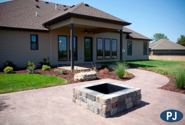 Copperstone Outdoor Living Space
