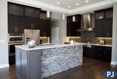 Custom Kitchen Heritage Woods