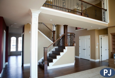 Old Hawthorne Custom Staircase
